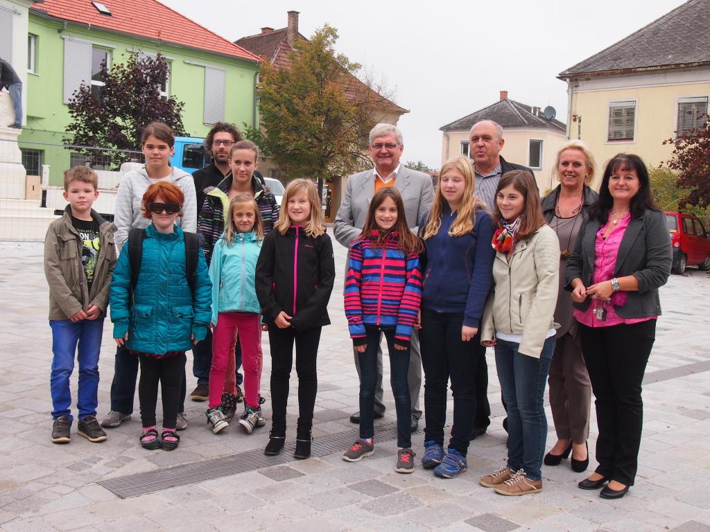 Mobiles Eyetracking mit Volksschülern und der neuen Mittelschule in Grafenwörth